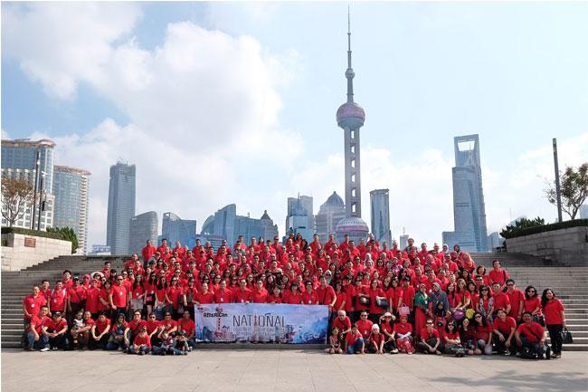 EVENT AMERICAN PILLO NATIONAL PARTNERS GATHERING, SHANGHAI 18 s/d 20 OKTOBER 2015