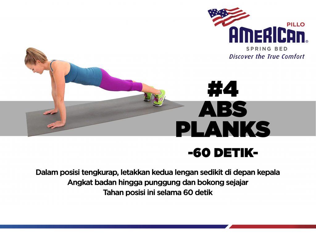 Abs Planks - 60 detik