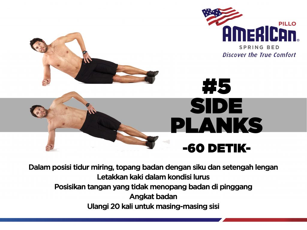 Side Planks - 60detik