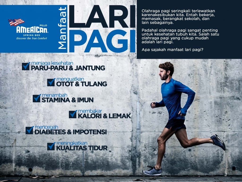 Manfaat Lari Pagi